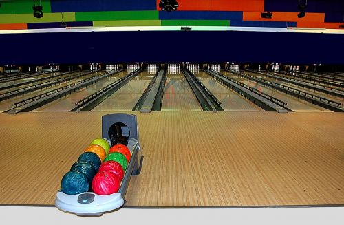bowling alley bowling sport