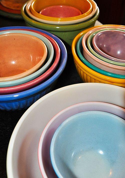 bowls mixing bowls food