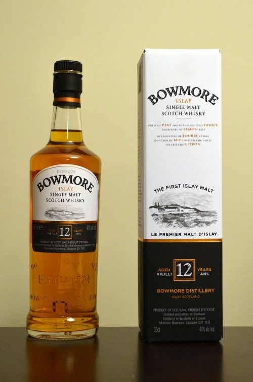 bowmore alcohol whisky