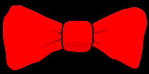 bowtie red tie