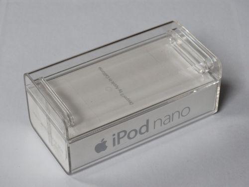box plastic ipod