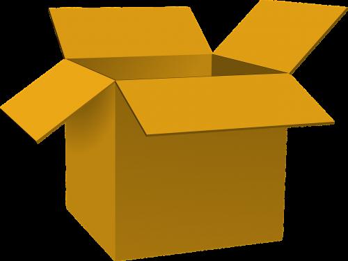 box case opened