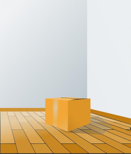 box floor perspective