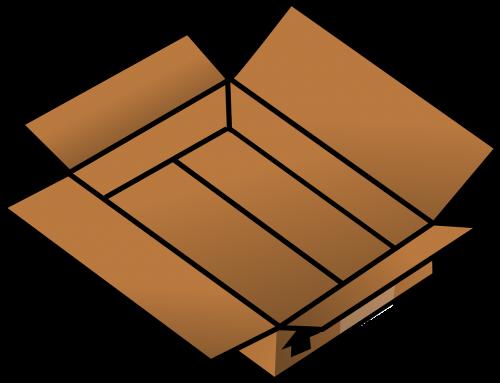 box cardboard pasteboard