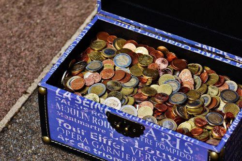 box chest money