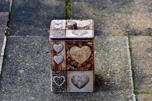 box heart love