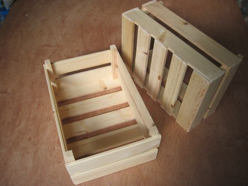 box crate wood
