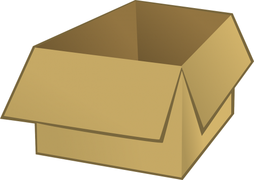 box cardboard packing