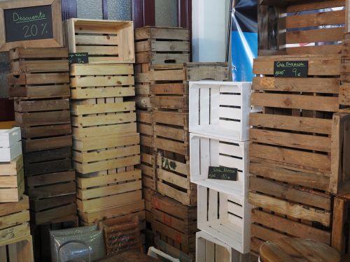 box storage wood