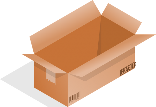 box fragile package