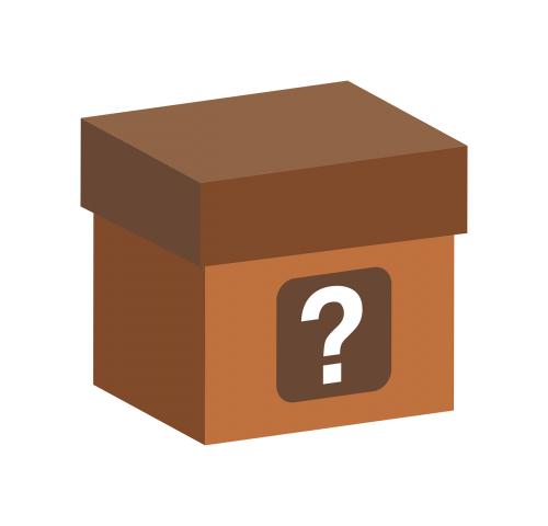 box question mark question