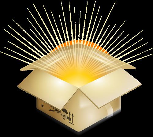 box surprise explosion