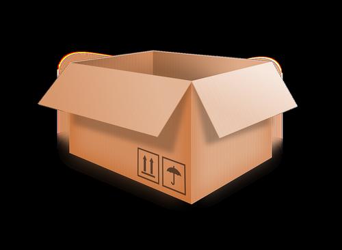 box  cardboard  packing