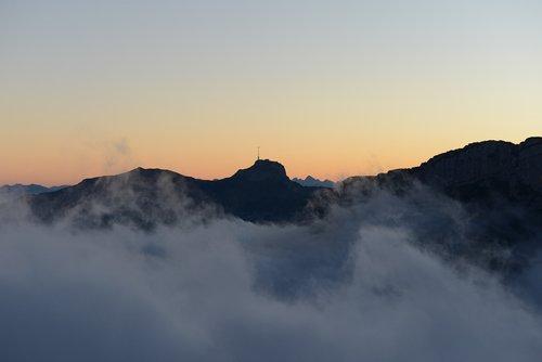 box  alpstein  mountains