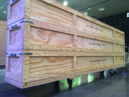 box baggage wheel