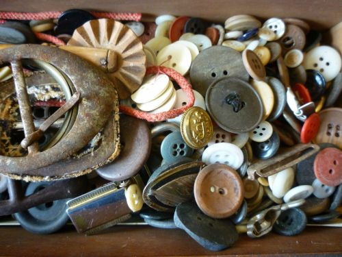 Box Of Buttons Etc.