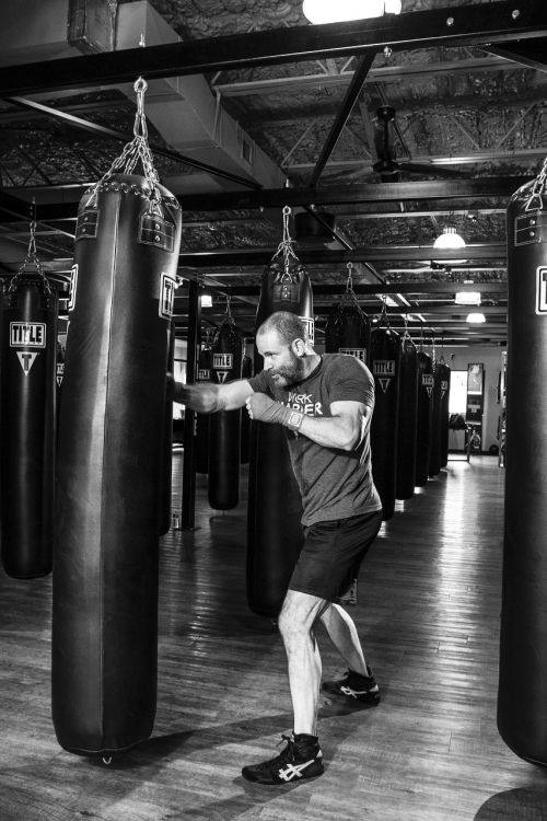 boxer boxing fitness