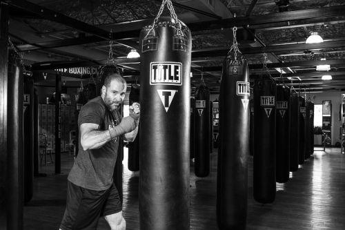 boxer boxing martial arts boxing