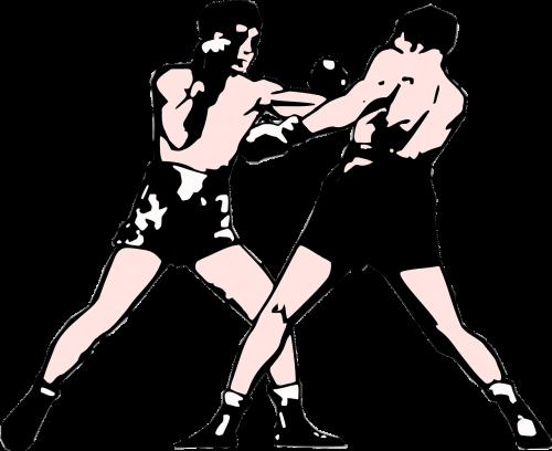 boxing fight perfect art