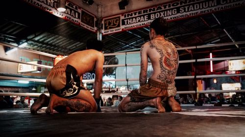 boxing fight fighters
