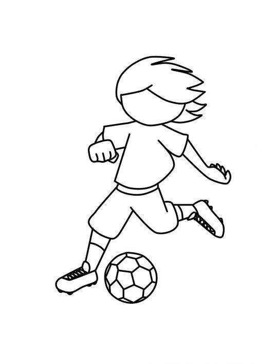 boy soccer football