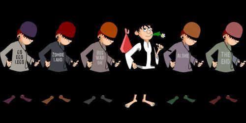 boy comic characters lad