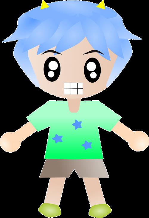 boy angry dude