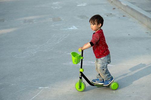 boy scooter kick bike