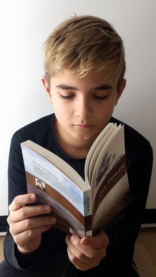 boy exciting read literature