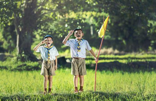 boy scout scouting