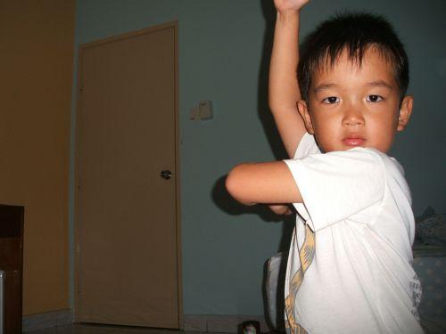 boy kung fu fighting martial