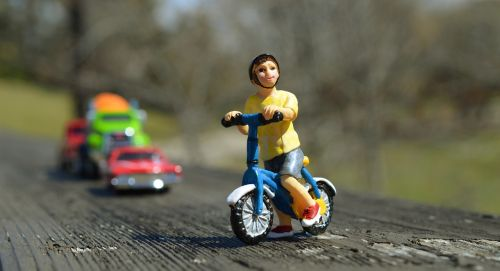 boy bicycle safety