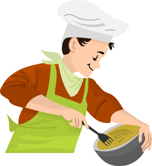 boy cooking chef