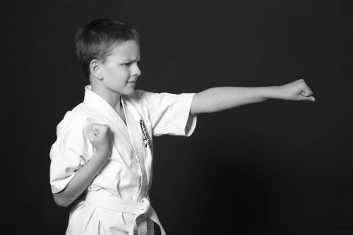 boy teen karate