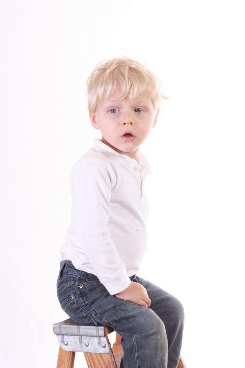 boy portrait sitting