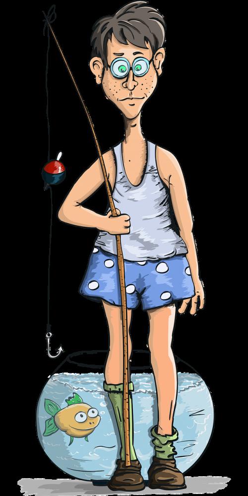 boy rod fish