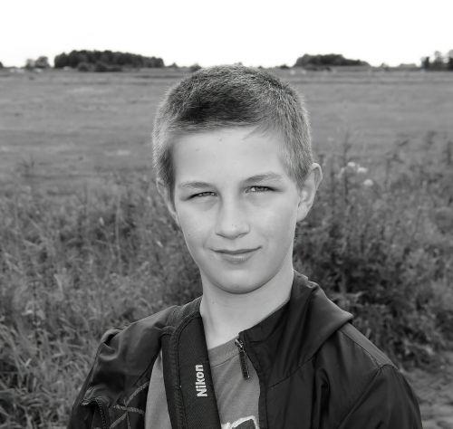 boy teenager self confident