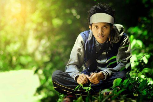 boy man jungle