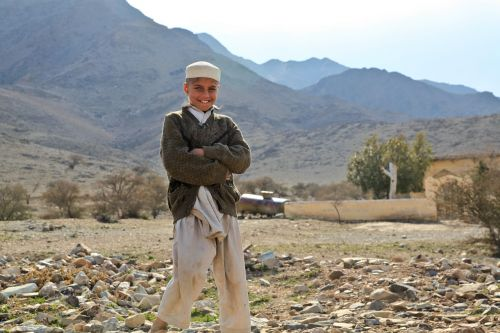 boy afghani portrait