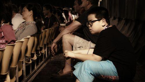 boy looking observing