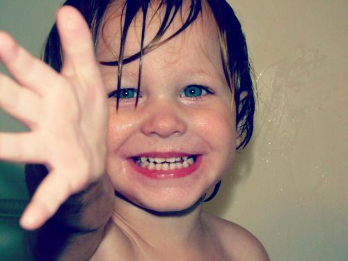 boy face happy