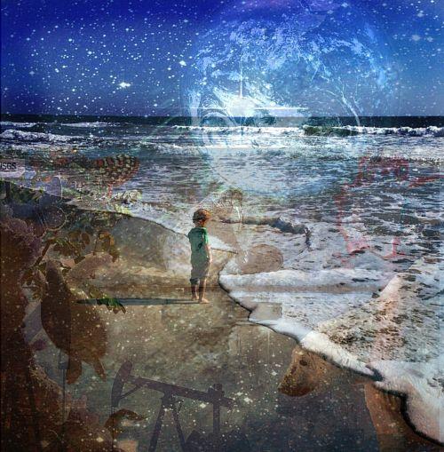 boy beach dream
