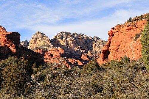 boynton canyon  sedona  red rocks