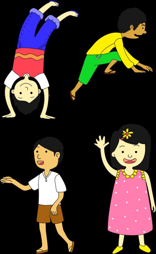 boys cartoon children