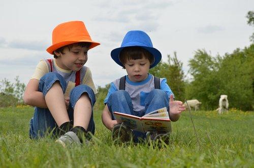 boys  meadow  kids