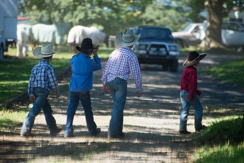 boys  cowboys  australia