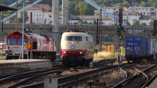 br 103 class de668 hbf ulm