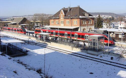 br 644 giengen railway station