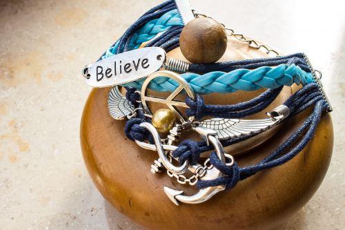 bracelet jewellery believe