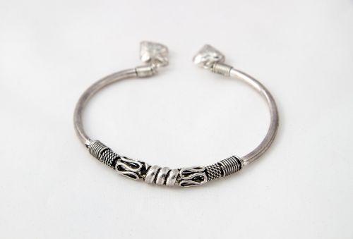 bracelet metal silver